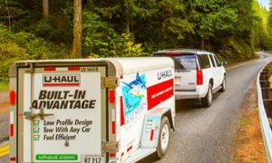 Customer Vehicle/Rental Trailer