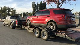 Towing a vehicle 01